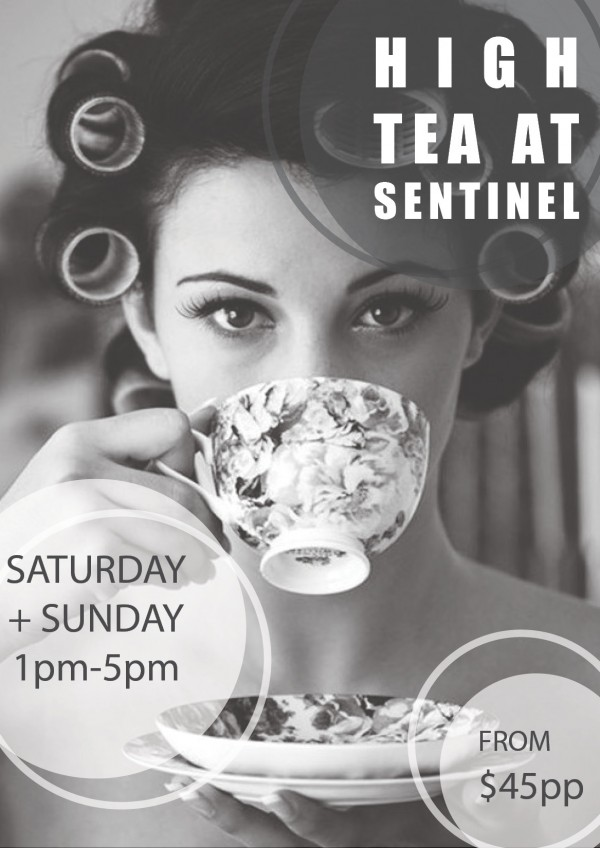 High Tea Flyer