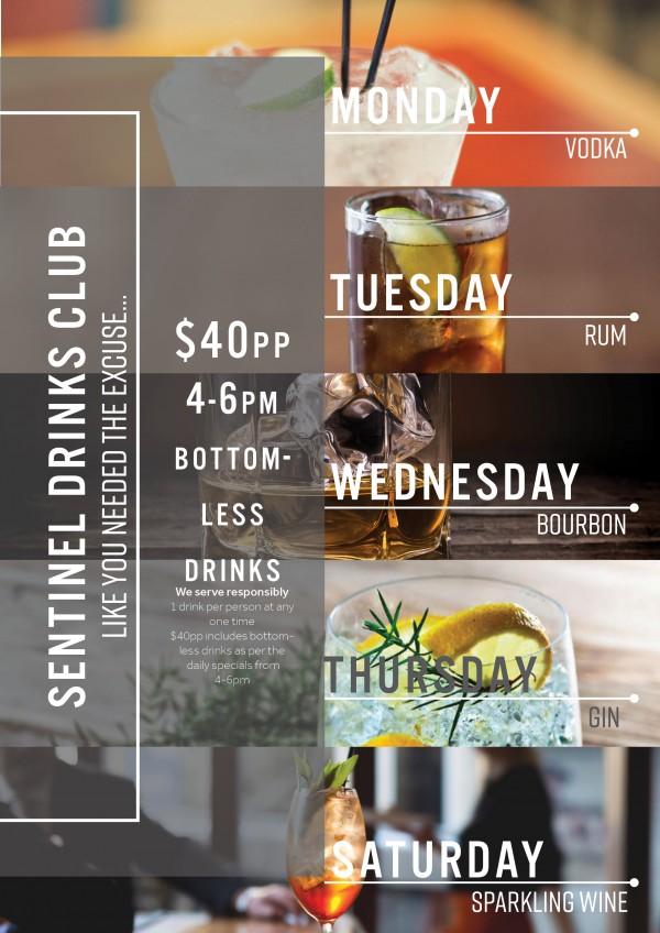 A4 Booze club