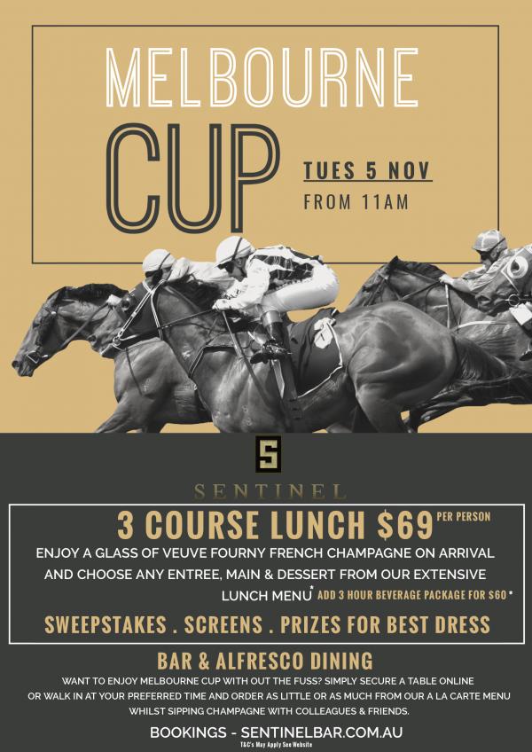 Melbourne Cup - Sentinel Bar